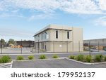 modern office building with... | Shutterstock . vector #179952137