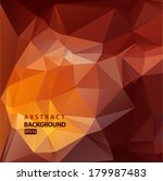 abstract geometric background... | Shutterstock .eps vector #179987483