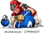 vector illustration of two... | Shutterstock .eps vector #179996537