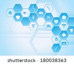 medical theme | Shutterstock .eps vector #180038363