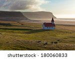 Typical Rural Icelandic Church...