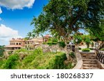 tropical river chavon in... | Shutterstock . vector #180268337