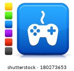 controller icon on square...   Shutterstock .eps vector #180273653