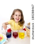 happy sweet  little girl... | Shutterstock . vector #180288467
