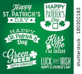 Happy St. Patrick's Day Vector...