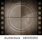 vintage movie background with... | Shutterstock . vector #180350303