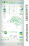 medical infographic elements  | Shutterstock .eps vector #180355973