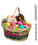 Easter Basket Full Of Easter...