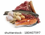 meat group | Shutterstock . vector #180407597