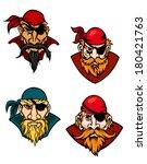 old danger pirates  buccaneers  ...   Shutterstock .eps vector #180421763