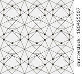 vector seamless pattern. modern ... | Shutterstock .eps vector #180425507
