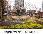 ghetto in ny. harlem in new... | Shutterstock . vector #180431717