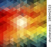 background colored triangles | Shutterstock .eps vector #180442523