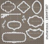 vector illustration of a... | Shutterstock .eps vector #180497387