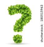 Question Mark  Vector Alphabet...