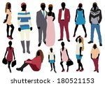 people color set | Shutterstock .eps vector #180521153