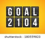 goal football soccer concept... | Shutterstock .eps vector #180559823