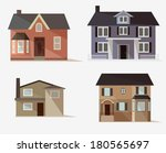 vector  web icons set of... | Shutterstock .eps vector #180565697