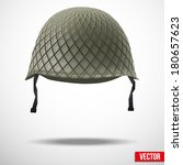 military classic helmet green...