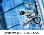 security camera and urban video | Shutterstock . vector #180735227