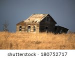 Abandoned Farm House On The...