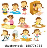 illustration of the different... | Shutterstock .eps vector #180776783
