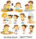 illustration of the different... | Shutterstock .eps vector #180777947