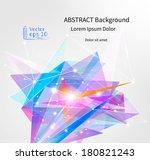 abstract background  vector | Shutterstock .eps vector #180821243