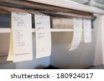 orders in a portuguese... | Shutterstock . vector #180924017