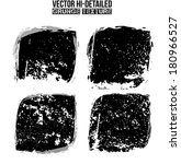 abstract grunge vector... | Shutterstock .eps vector #180966527