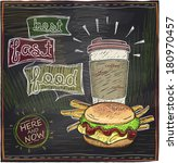 Best Fast Food Chalkboard...