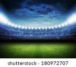 stadium | Shutterstock . vector #180972707