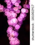 pink circle bokeh | Shutterstock . vector #181002917