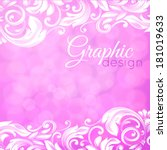 Abstract Pink Background With...