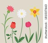 Flower For Pattern