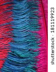 Multi Coloured Ostrich Feather...