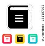 text book icon.