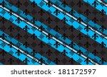 fleur de lis stripe pattern... | Shutterstock .eps vector #181172597