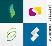 letter s   Shutterstock .eps vector #181211567