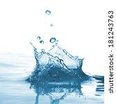 water splash   Shutterstock . vector #181243763