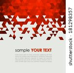 abstract technology background  ... | Shutterstock .eps vector #181298357