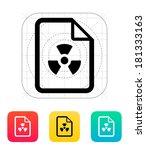 dangerous file icon.
