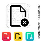 remove file icon.