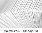 close up of open business... | Shutterstock . vector #181432823