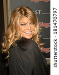 Постер, плакат: Fergie at Verizon Wireless
