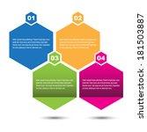 info graphic design template.... | Shutterstock .eps vector #181503887