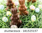 Easter Chocolate Bunnies Made...