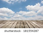 wooden ground with copyspace on ... | Shutterstock . vector #181554287