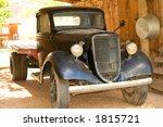 Old 1930 Vintage  Truck In Goo...