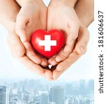 family health  charity and...   Shutterstock . vector #181606637